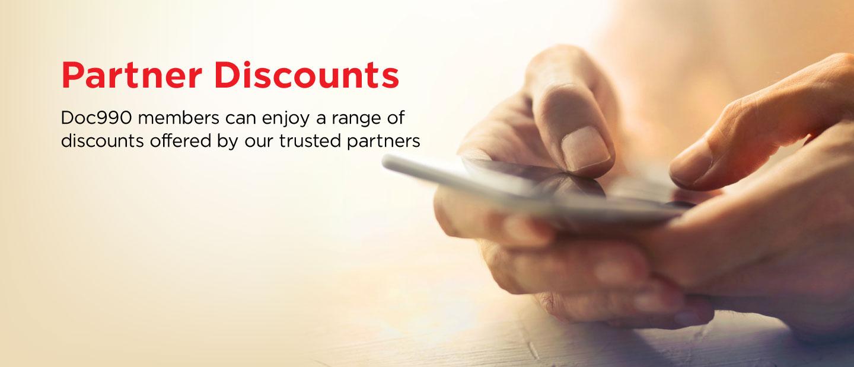 Discounts Banner