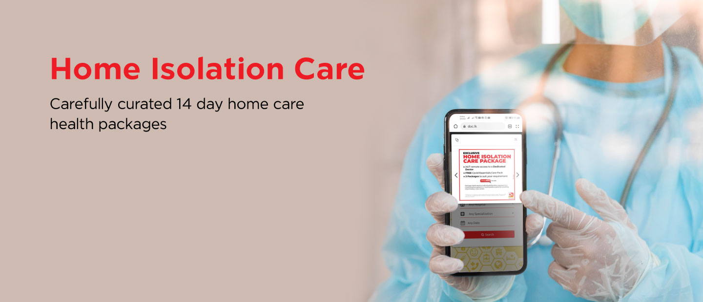 Home Isolation Care Banner