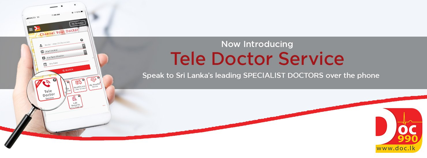 Speak to specialist doctors over the phone with tele doctor